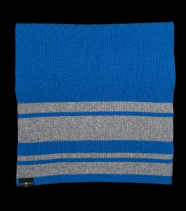 Sophie Large Blue Cashmere Scarf