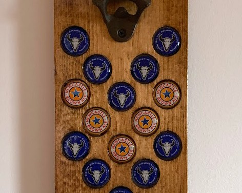 DIY Bottle Opener with Magnetic Cap Catcher