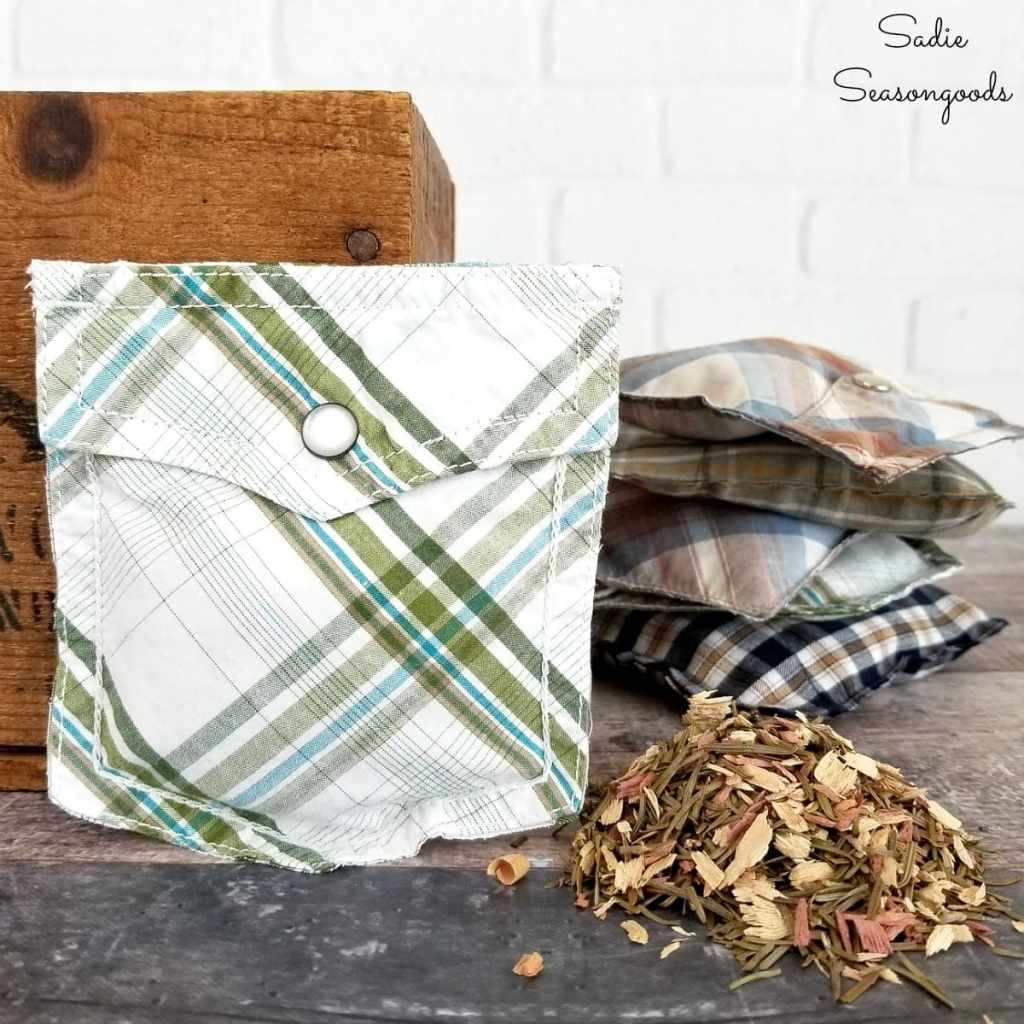 DIY Father's Day Scented Sachets from Sadie Seasongoods