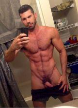Nude Men Selfies - Guys Showing Off Their Cocks