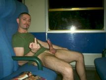 gay wanking on train porn videos & sex movies on SeeMyBF