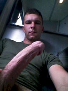 gay soldier showing cock snapchat