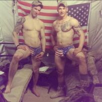american naked Men & Soldiers