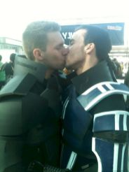 see my gay bf first kiss