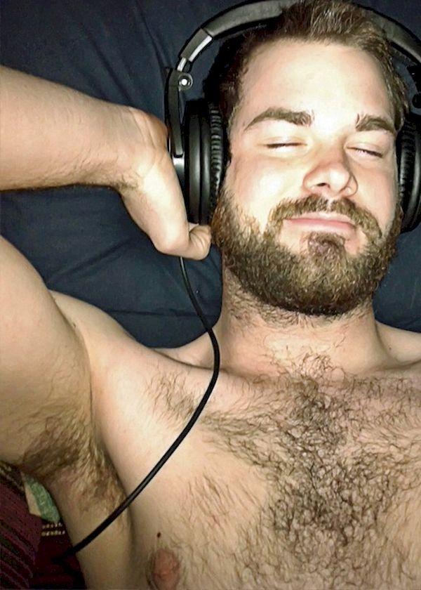 Amateur gay hairy men video