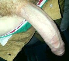 Hard Uncut Dick Only by SeeMyBF