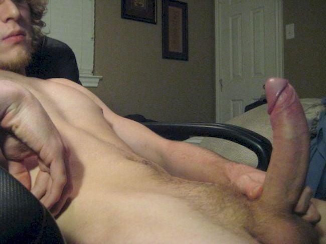 Handsome boy seduced to taste a cock