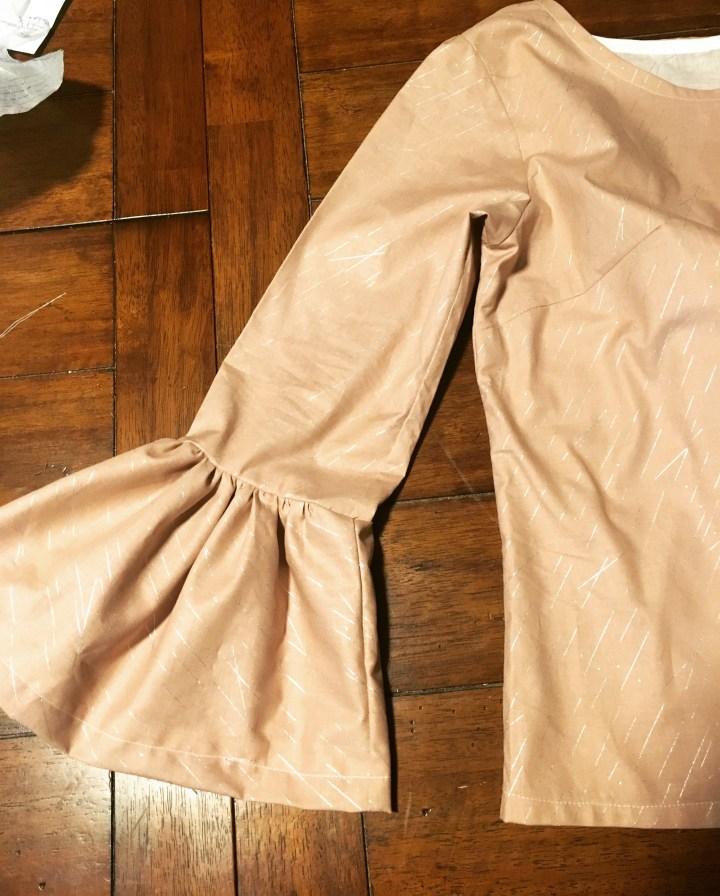 Pattern Hack: Gathered Belle Sleeve Top