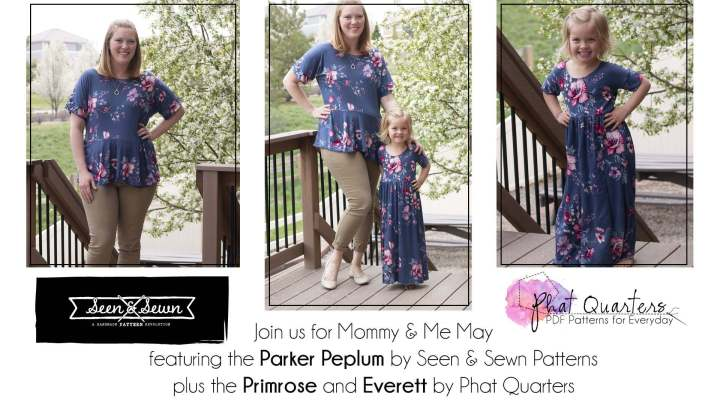Mother's Day Collab with Phat Quarters Patterns