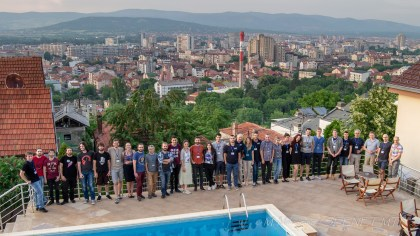 The participants of the Balkan School BS2018 (3 - 10 June 2018, Niš, Serbia)