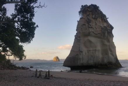 Abendlicht an der Cathedral Cove