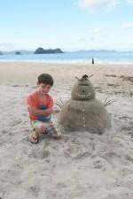 Sand-Snowman