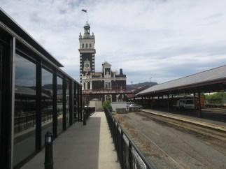 Railway station at Dunedin - looks quite scottish!