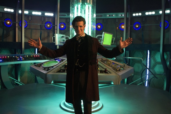 The Doctor (MATT SMITH), Tardis Interior - BBC/Adrian Rogers