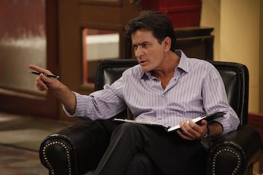 Charlie Sheen returns to TV with Anger Management