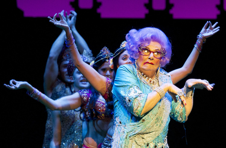 Dame Edna Everage Tour