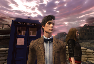 Matt Smith and Karen Gillan have been digitally recreated for the new games
