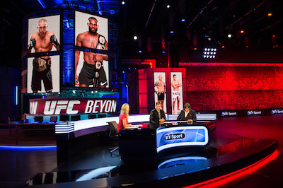 BT Sport''s UFC - Beyond the Octagon. Image: BT