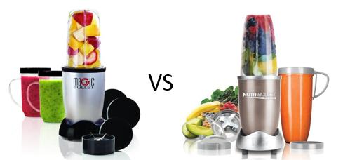 nutribullet vs magic bullet