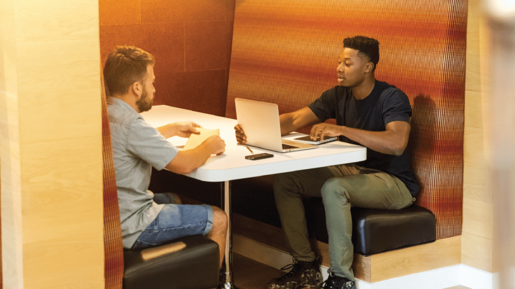 Feature Photo - Two men Meeting about business