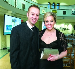 Dwight and Jessica Lindstrom of Harrison Township