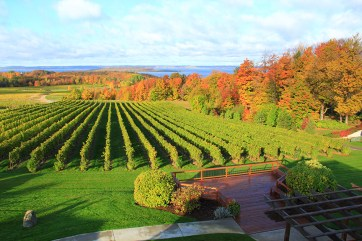 Chateau Grand Traverse in Traverse City.