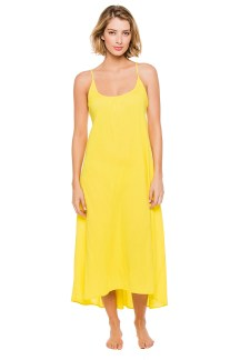 9 Seed sun yellow cotton maxi dress, $130, at Everything But Water, Somerset Collection, Troy.
