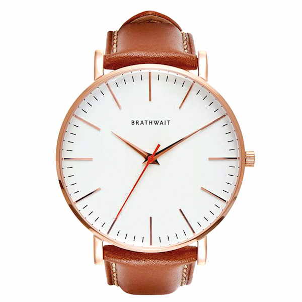 Brathwaite classic slim wrist watch, $229