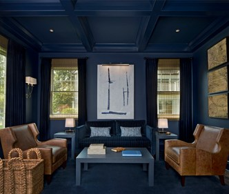 Examples of the luxurious decor to expect at The Forefront.