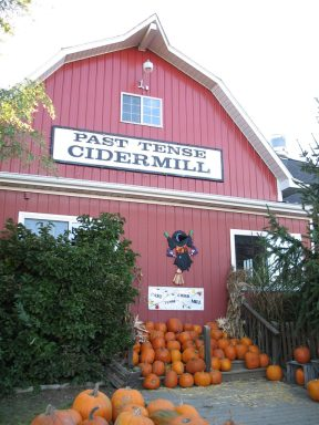 Past Tense Cider Mill.
