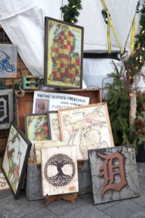 Treasures from local artists were available at the Winter Market.