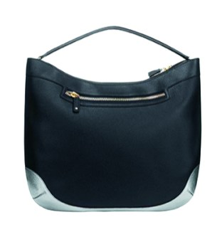 Anya Hindmarch leather satchel, $1,350, at Tender.