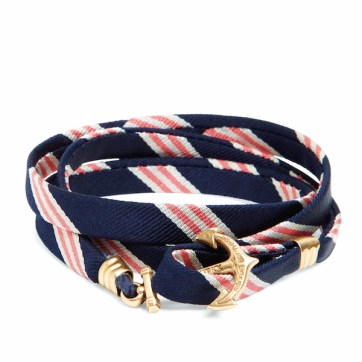 Keil James Patrick mini Brooks Brothers wrap bracelet, $48