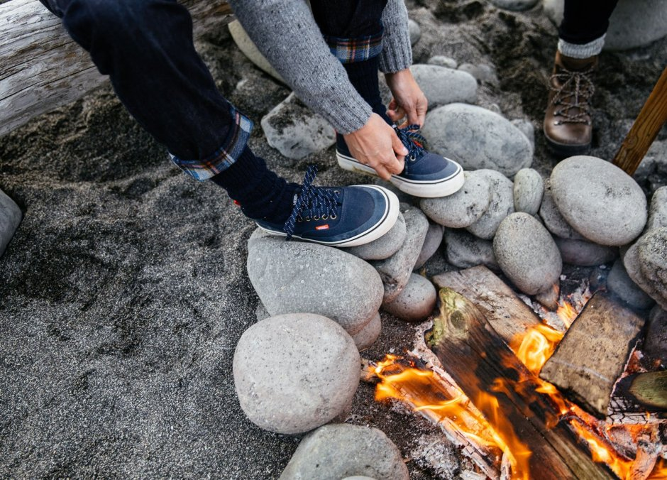 Vans Authentic collaboration with Finisterre