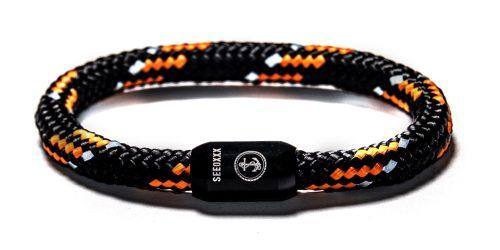 Horny Armband Produktbild schwarz orange Armband