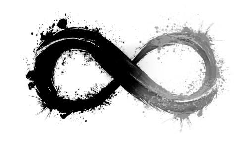 SEEOXX Infinity schwarz weiß