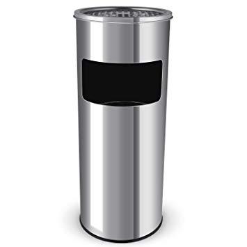 Cendrier Extérieur & Poubelle Inox