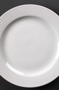 Assiette Plate Ronde linea 31 Cm