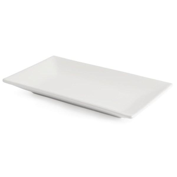 Assiette rectangulaire 25 x 15 Cm