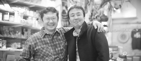 『流 ながれ』 村上浩康氏(監督・編集) 能勢 広氏 (製作・撮影)