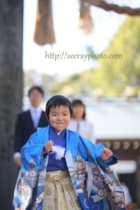 七五三 神社への出張撮影