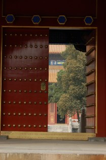 Open Temple Door