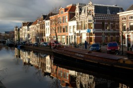 Leiden Canal Times Two