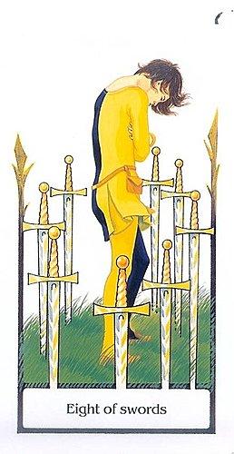 古徑塔羅小牌旅程之寶劍八