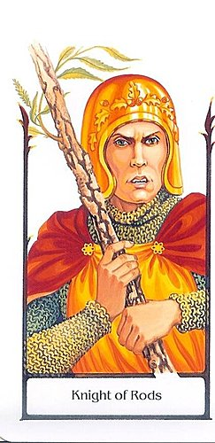 古徑塔羅小牌旅程之權騎士