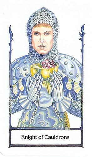 古徑塔羅小牌旅程之聖杯騎士