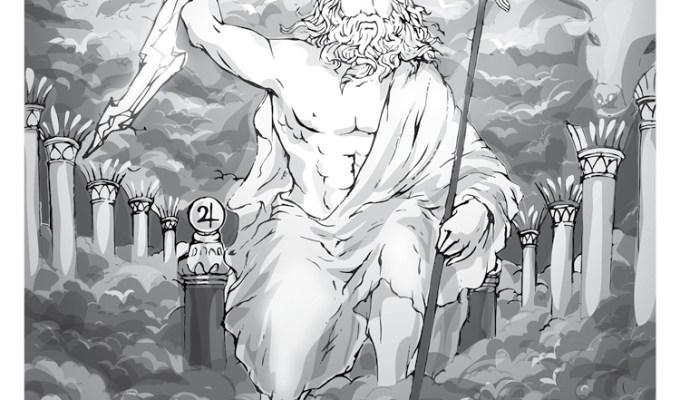 【魔法手帳誌】2017年5月‧希臘雷神⊕宙斯Zeus