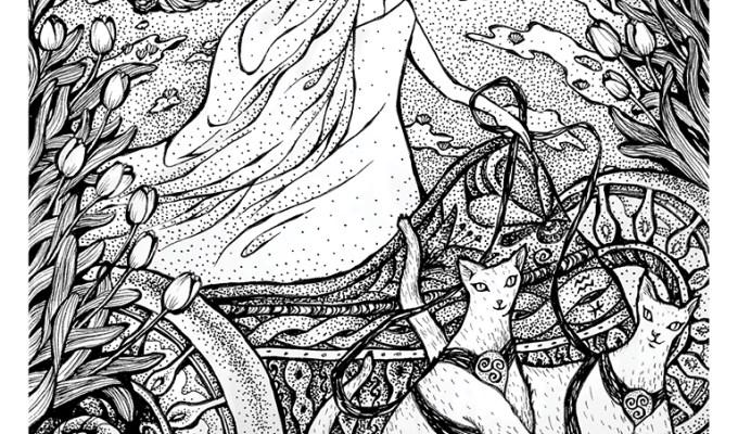 【魔法手帳誌】2015年1月‧芙雷雅女神與本月大事紀