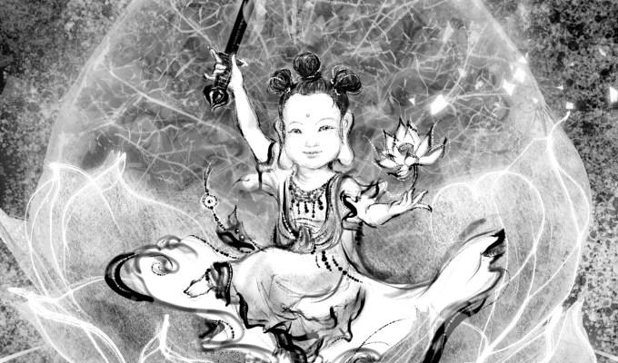 【魔法手帳誌】2019年5月‧吉祥光明的智慧象徵.文殊菩薩