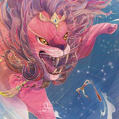 【巫日書】2020年8月‧自信與光明的貴族.金獅